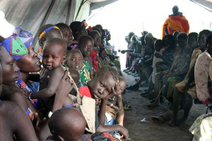 Южный Судан. Лагерь беженцев