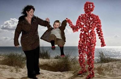 Красные маки для британских ветеранов