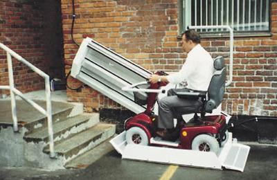 За передвижениями колясочников будут следить видеокамеры