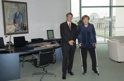 Германия выделит деньги, Гейтс их удвоит