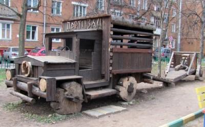Один из объектов, построенных Андреем Сальниковым
