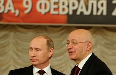Владимир Путин и Сергей Кургинян