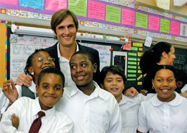 DonorsChoose: помогает помочь школам