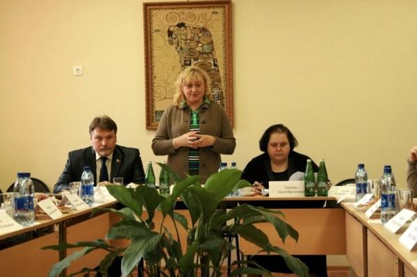 Заседание в Колычевском интернате