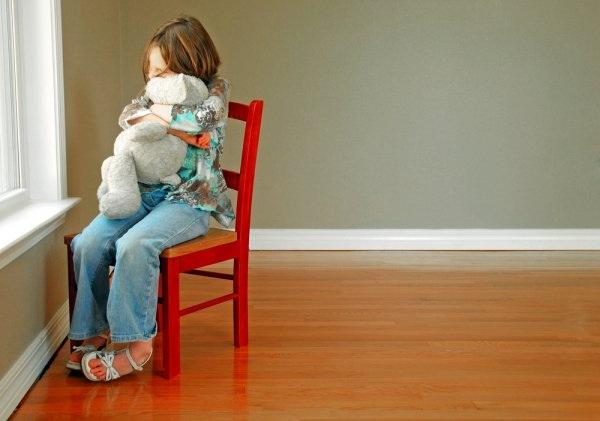 ребёнок в стрессовой ситуации