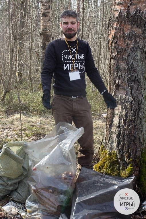 """Дмитрий Иоффе, основатель и координатор """"Чистых игр"""" в Санкт-Петербурге. Фото из личного архива"""